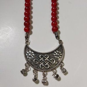 *3/$85* Artisan necklace bead princess ethnic boho